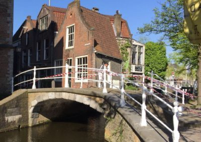 Brug Oude Delft in Delft